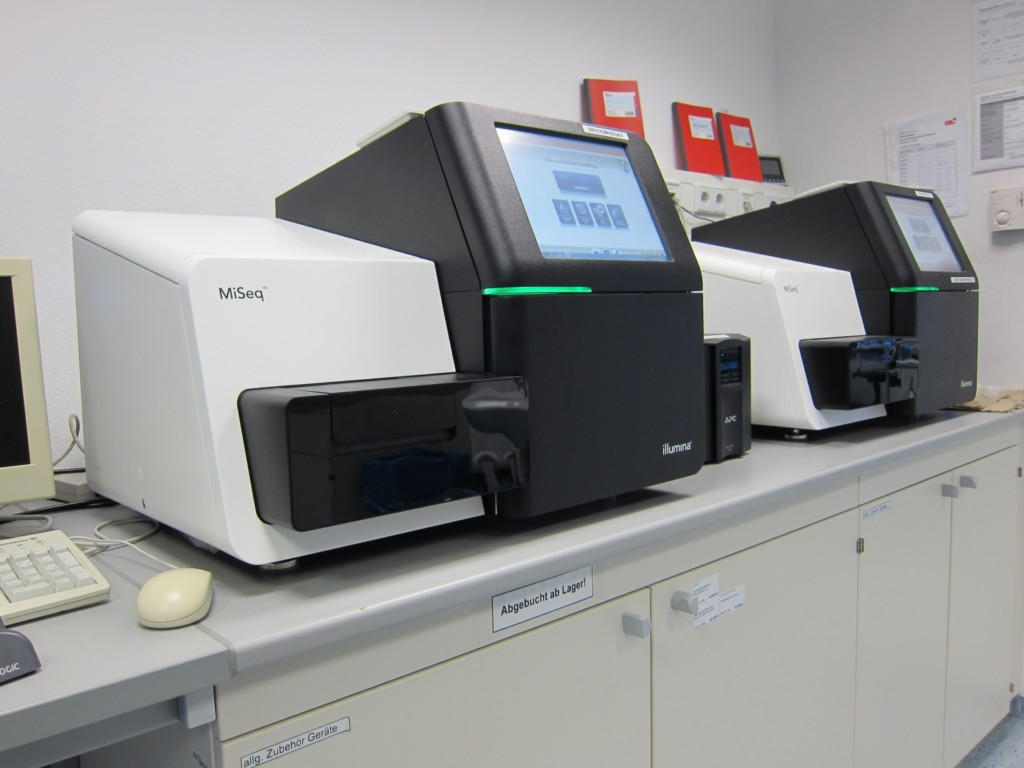 MiSeq Sequenzierer