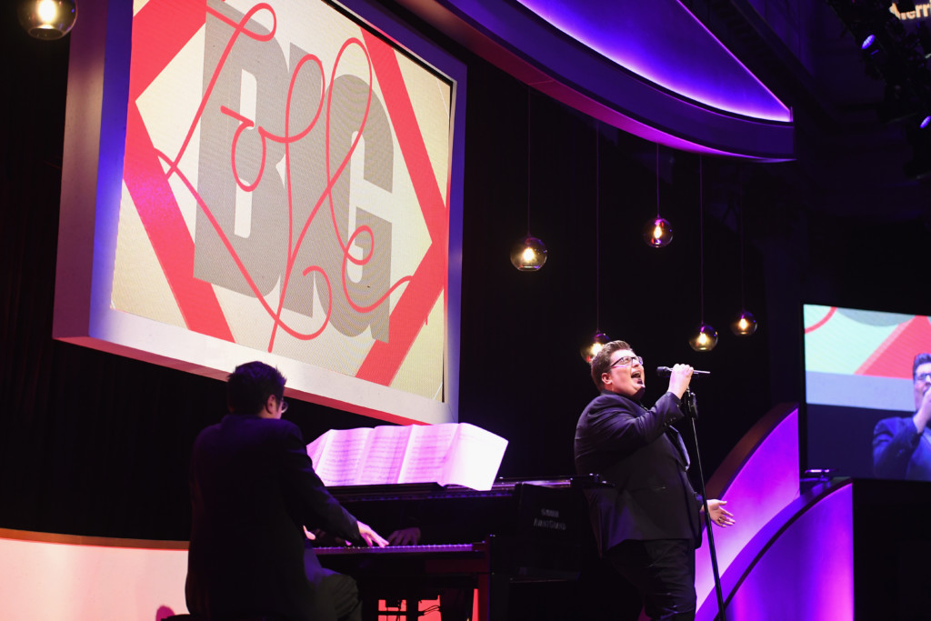 "Jordan Smith performed bei der ""BIG LOVE"" Gala in New York City"